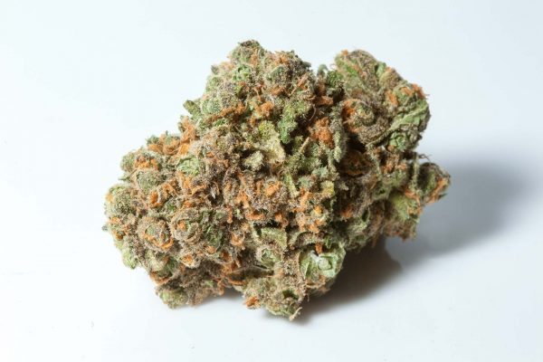 G Code strain indica dominant hybrid cannabis flower - Green Crack Strain