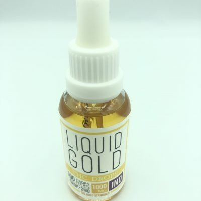 Liquid Gold - Indica- THC - Tinctures 1000mg