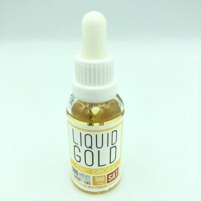 Liquid Gold - Sativa - THC - Drops 500mg