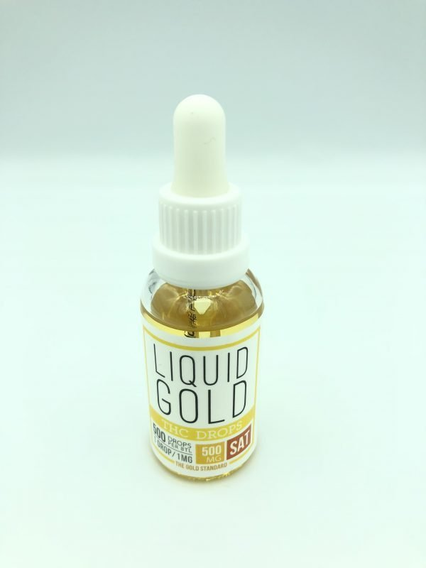 Liquid Gold - Sativa - THC - Drops 500mg