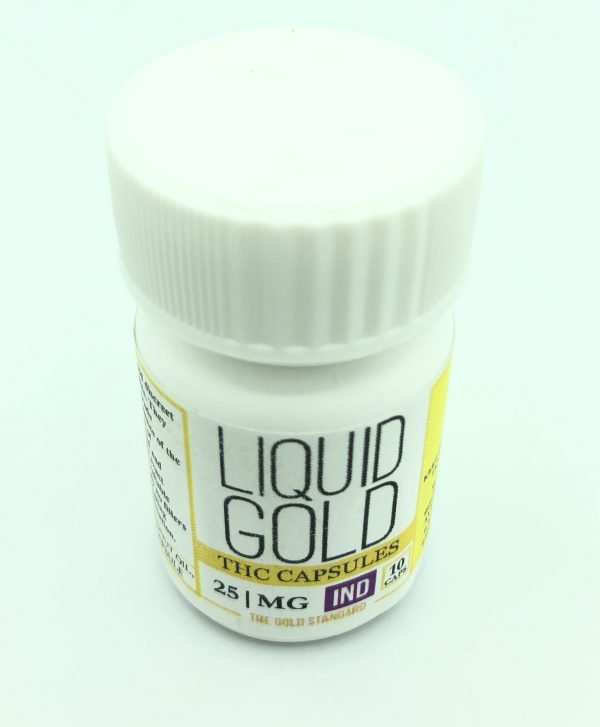 Liquid Gold - Indica - THC Capsule 25mg